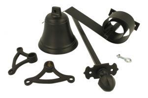 Trekbel set messing poedercoat (1900)